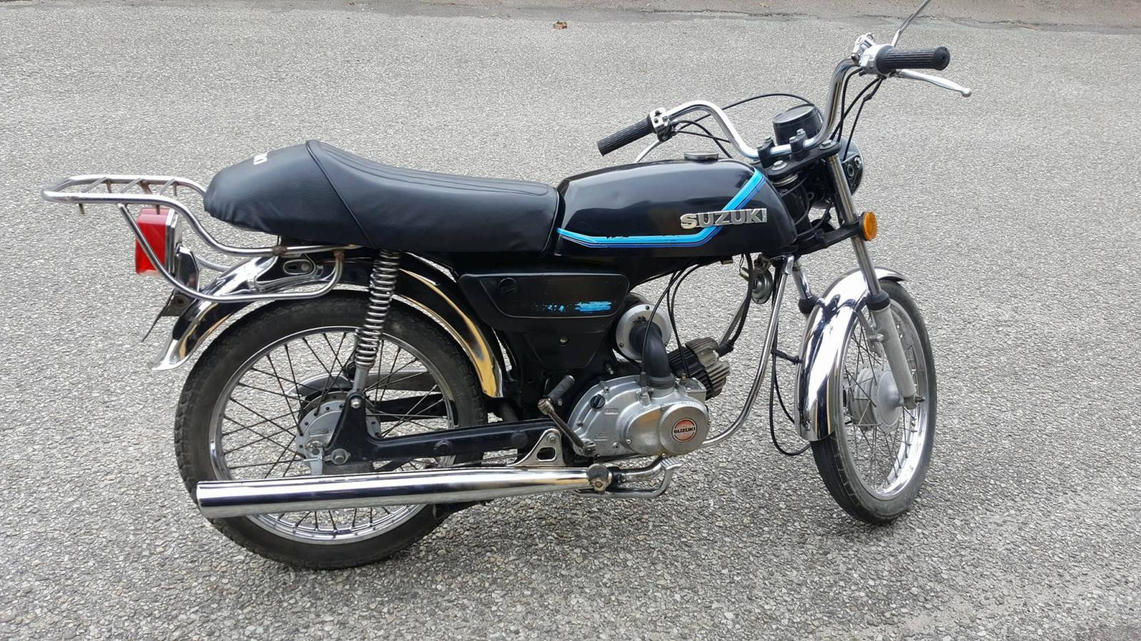 Nygammal caf k50z moped for Garage suzuki moselle